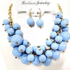 Jewelry - Fashion Women Crystal Necklace Choker Bib Jewelry